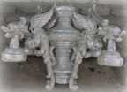 gargoyle lamp post top