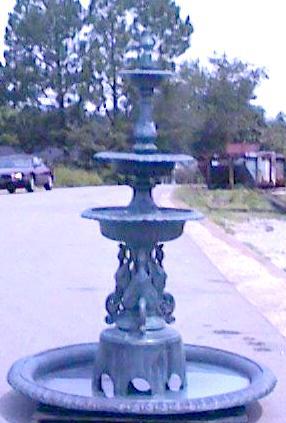 Cast Aluminum Fountain