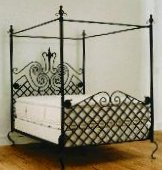 Canopy Beds Metal Beds at Total Bedroom Furniture, Iron Beds