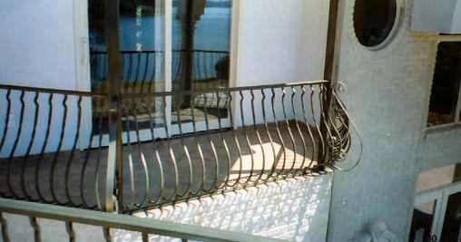 decorative aluminum railing. custom aluminum railing ornamental iron and railings