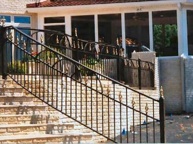 decorative aluminum railing. aluminum railing ORNAMENTAL ALUMINUM RAILING