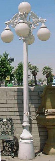 Gargoyle Street Lamp Post