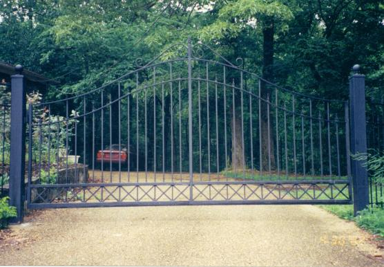 Pin black iron gate on pinterest