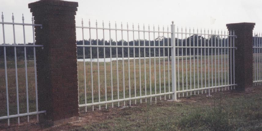 Iron aluminum fences