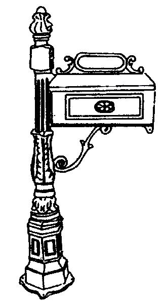 aluminum mailbox post. Rural Mailbox Post Gallery Cast Aluminum Stand