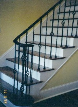 ... Interior Wrought Iron Railing