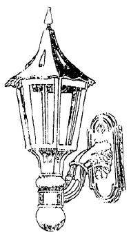 large tuder lamp drawing