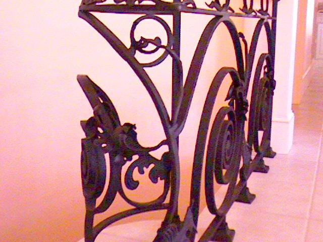 hand forged ironwork