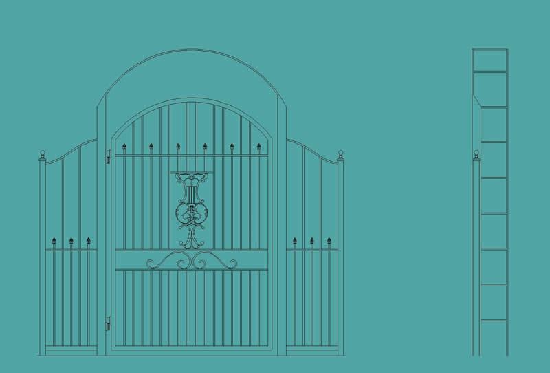 Wrought iron gate photo pictures catalog pdf joy studio