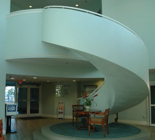 Freestanding Curved Staircase Curved Stairway