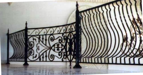 Stunning Curved Wrought Iron Railings Interior 500 x 263 · 37 kB · jpeg