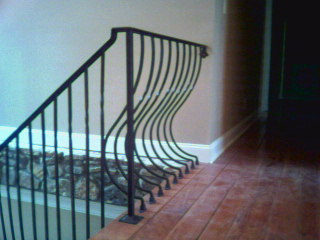 Wrought iron entry doors, gates & railing by Iron Doors NOW - Go