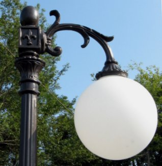 cast aluminum l& : antique street lighting - azcodes.com